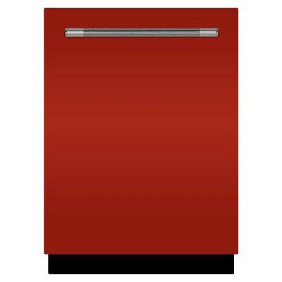 "Mercury 24"" 48 dBA Built-in Dishwasher Finish: Scarlet"