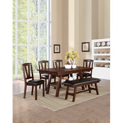 Kaneshiro 6 Piece Dining Set