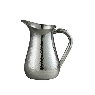 Bradyn Hammered Water Pitcher