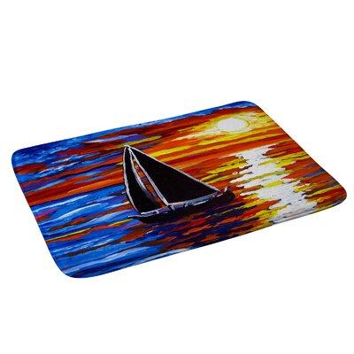 Renie Britenbucher Sunset Sail Bath Rug