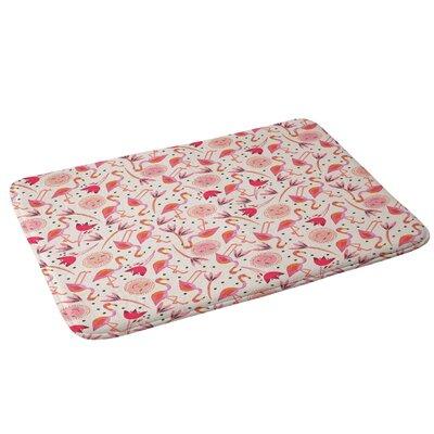 Gabriela Larios Flamingos Bath Rug