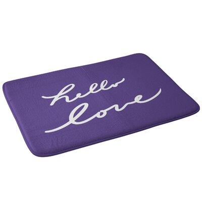Lisa Argyropoulos Hello Love Bath Rug