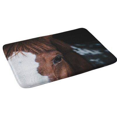 Ingrid Beddoes Horse Cheyenne Bath Rug