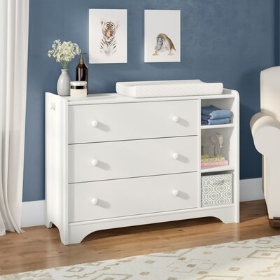 Garza 3 Drawer Accent Chest