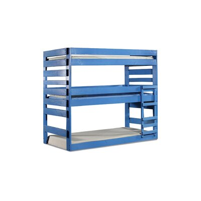 Goodfellow Extra Long Twin Triple Bunk Bed