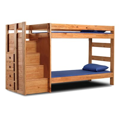 Delvecchio Twin Bunk Bed with Drawers