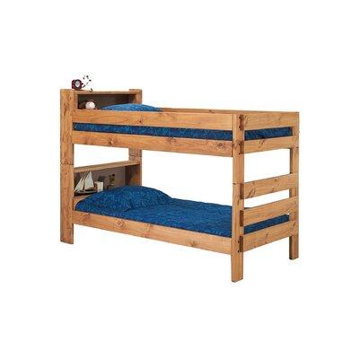 Blais Twin Bookcase Bunk Bed