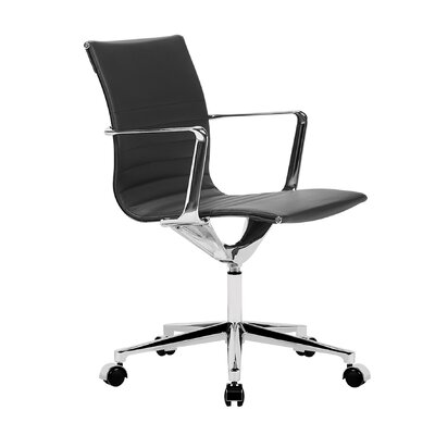 Coyte Office Chair Color: Black