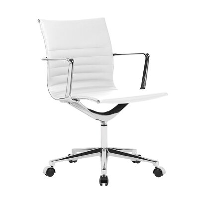 Coyte Office Chair Color: White