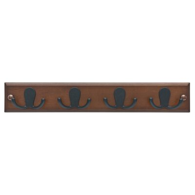 Quist Double Prong Robe Wall Mounted Coat Rack