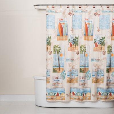 Adriano Beach Shower Curtain