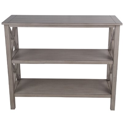 Mcfalls 3 Tier Console Table Color: Light Brown