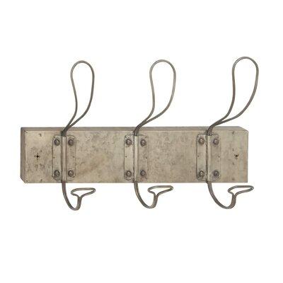 Hockman Industrial Wall Mounted Coat Rack