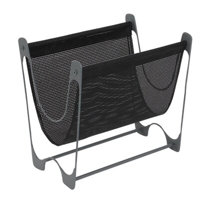 Sievert Contemporary Iron Mesh Magazine Rack