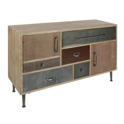 Hippocrates Modern 5 Drawer Accent Cabinet