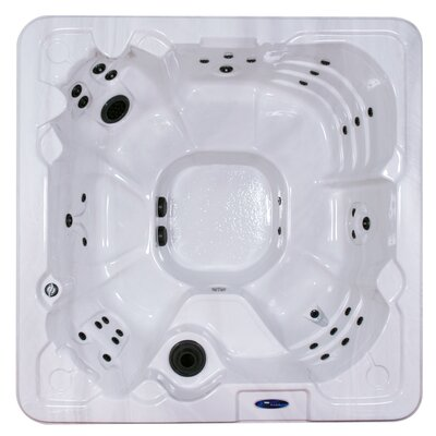 Martinique 7-Person 80-Jet Spa with LED Light and Ozonator