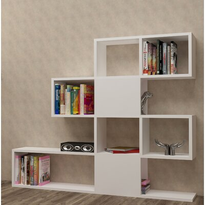 Huseman Cube Unit Bookcase Color: White