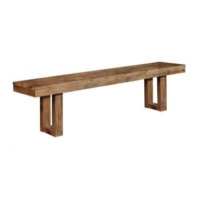 Passyunk Side Wood Bench