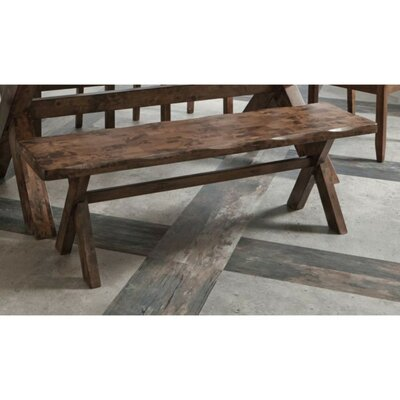 Vanwagoner Dining Wood Bench