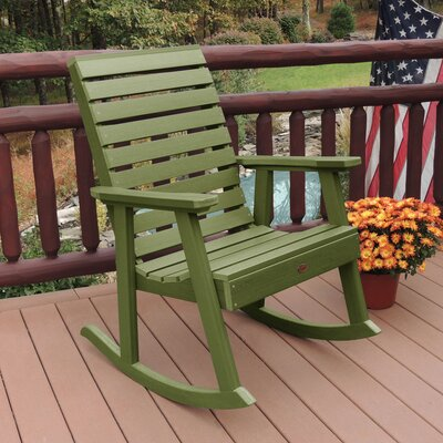 Berry Rocking Chair Color: Dried Sage