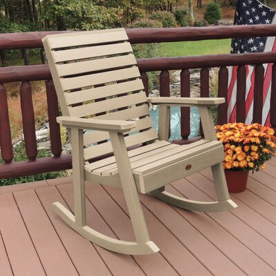 Berry Rocking Chair Color: Tuscan Taupe