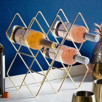 Storage Shelves Holder 8 Bottle Tabletop Wine Rack