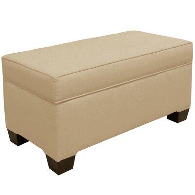 Upholstered Storage Bench Body Fabric: Linen Sandstone