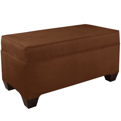 Upholstered Storage Bench Body Fabric: Premier Chocolate