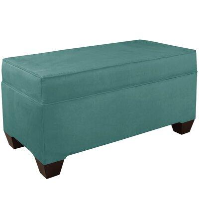 Upholstered Storage Bench Body Fabric: Premier Tidepool