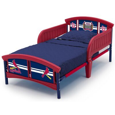 MLB St. Louis Cardinals Convertible Toddler Bed