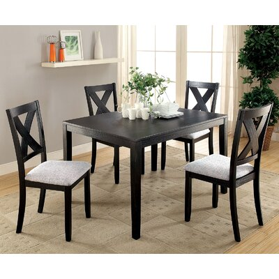 Skiljo 5 Piece Dining Table Set