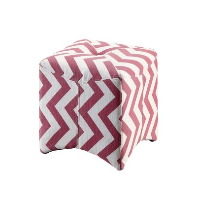 Colasanto Accent Stool Color: Red