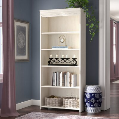 Oakridge Standard Bookcase Finish: Antique White