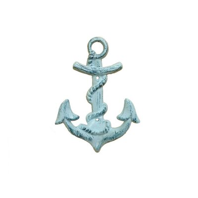 Anchor Wall Hook Color: Turquoise
