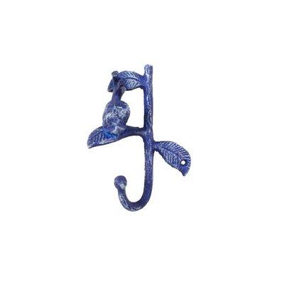 Yazgur Cast Iron Decorative Snail Wall Hook