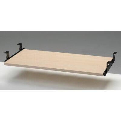 """Desk Drawer Size: 4"""" H x 28.25"""" W x 15.75"""" W, Finish: Melamine"""
