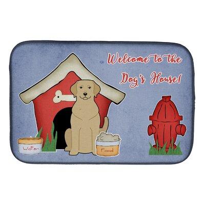 Dog House Labrador Dish Drying Mat