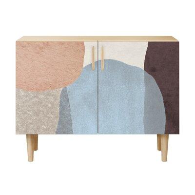 Durfee 2 Door Accent Cabinet Color: Natural