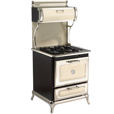 """30"""" Free-standing Dual Fuel Range Color: Ivory"""