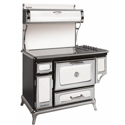 "48"" Free-standing Electric Range Color: White"