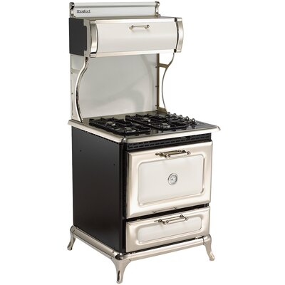 """30"""" Free-standing Gas Range Color: White"""