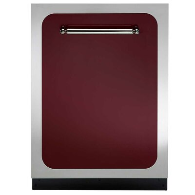 "Classic 24"" 48 dBA Built-In Dishwasher Finish: Cranberry"
