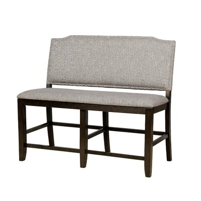 "Rayan Wood Bench Size: 42"" H x 49"" W x 23"" D"