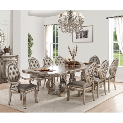 Leanos 9 Piece Dining Set