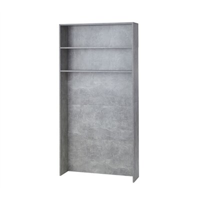 "85.9"" H x 41.8"" W Over Bed Shelving Unit Finish: Gray"