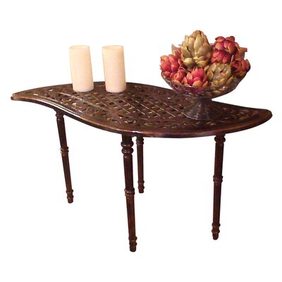 Yokum Leaf Console Table