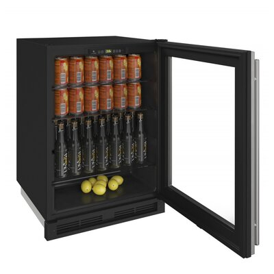 "1000 Series Reversible Hinge Integrated 20"" 5.4 cu. ft. Undercounter Beverage Center"