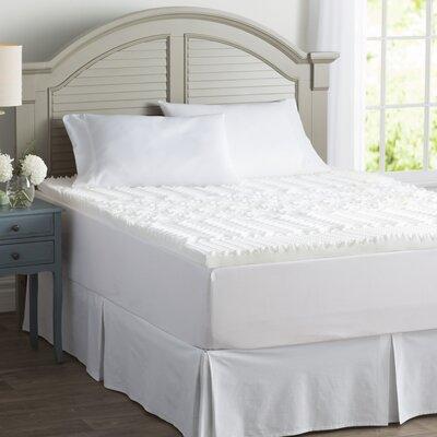 "Wayfair Basics 3"" Memory Foam Mattress Topper Bed Size: Full"