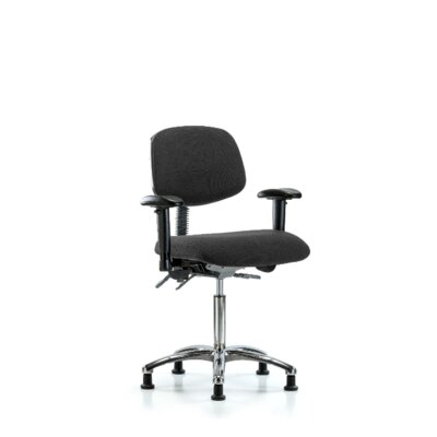 Ella Ergonomic Office Chair Color (Upholstery): Black, Casters/Glides: Glides, Tilt Function: Included