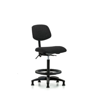 Micaela Office Chair Color (Upholstery): Black, Casters/Glides: Glides, Tilt Function: Not Included